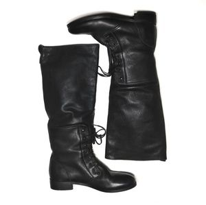 J Crew riding boots size 9 black